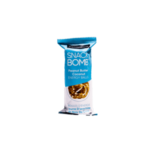 Snack Bomb Peanut Butter Coconut Energy Balls Snack Size