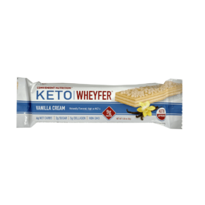 Convenient Nutrition Keto Wheyfer Bar Vanilla Cream