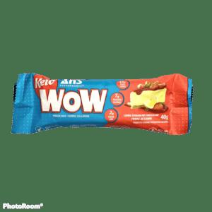 Keto WOW Bars – Lemon Strawberry Shortcake