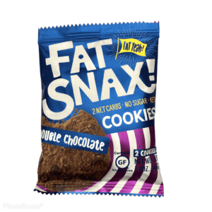 Fat Snax Cookies – Double Chocolate