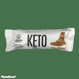 Genius Gourmet Keto Bar Salted Caramel