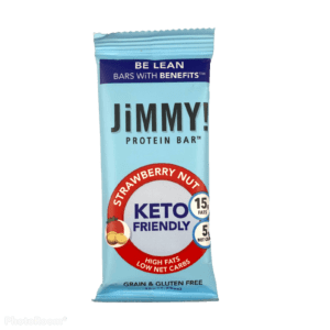 JiMMY! Chocolate Strawberry Nut Protein Bar