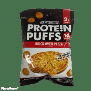 Shrewd Food – Protein Puffs – Brick Oven Pizza
