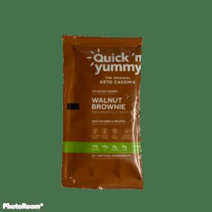 Keto Mug Cake – Walnut Brownie