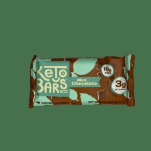 Keto Bars – Mint Chocolate