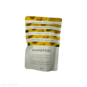 Handfuel Dry Roasted Marcona Almonds with Lemon and Sea Salt