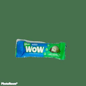 KetoWow Mint Chocolate Chunk Snack Bar