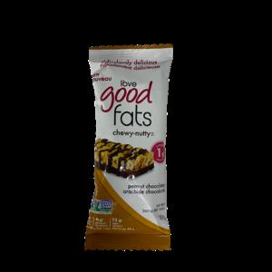Love Good Fats Chewy-Nutty Keto Bars Peanut Chocolatey