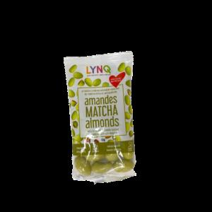 LYNQ – Matcha Covered Almonds