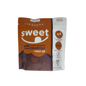 Sweet Nutrition Soft Double Chocolate Cookies, 6 Cookies