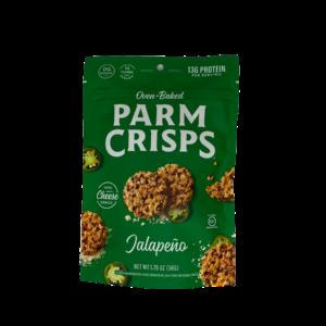 ParmCrisps Parmesan Crisp Snacks, 1.75oz Jalapeño