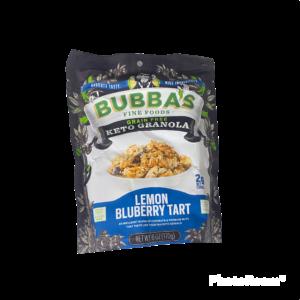 BUBBAS Lemon Blueberry Tart Keto Granola
