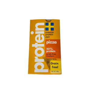 Swedish Protein Deli Low Carb Crackers – Pizza